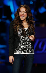 Miley Cyrus picture during the taping of Idol Gives Back held at the Kodak Theatre on April 6th 2008 in Hollywood 5