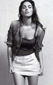 Megan Fox photo shoot for Emporio Armani Womens Underwear and Armani Jeans campaigns for the SpringSummer 2010 line 4