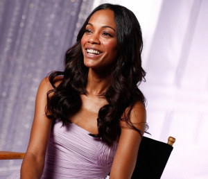 Zoe Saldana photo shoot for the Avon fragrance Eternal Magic in January 2010 4