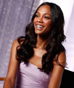 Zoe Saldana photo shoot for the Avon fragrance Eternal Magic in January 2010 2