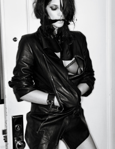 Ashley Greene photo shoot for the February 2010 issue of Interview Magazine 3