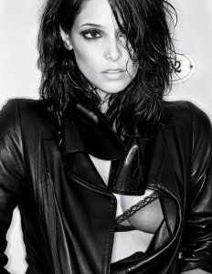Ashley Greene photo shoot for the February 2010 issue of Interview Magazine 1