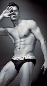 Cristiano Ronaldo photo shoot for the Spring Summer 2010 campaigns for Emporio Armani Mens Underwear 3