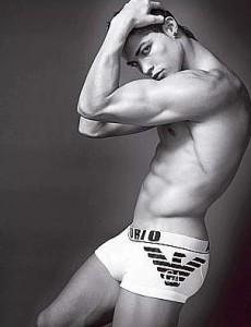 Cristiano Ronaldo photo shoot for the Spring Summer 2010 campaigns for Emporio Armani Mens Underwear 1