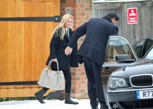 Geri Halliwell seen with Kenny Goss at Willis retail store on January 12th 2010 6