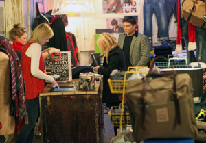 Geri Halliwell seen with Kenny Goss at Willis retail store on January 12th 2010 3