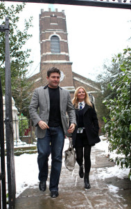 Geri Halliwell seen with Kenny Goss at Willis retail store on January 12th 2010 1