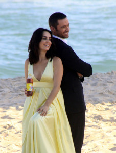 Hugh Jackman seen at Grumari beach in Rio de Janeiro shooting a Lipton commercial on January 13th 2010 5