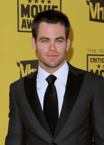 Chris Pine arrives at the 15th annual Critics Choice Movie Awards held at the Hollywood Palladium on January 15th 2010 in California 1