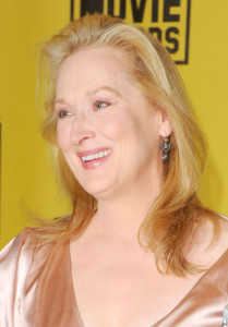 Meryl Streep with Best Actress award in the press room during the 15th annual Critics Choice Movie Awards on January 15th 2010 at the Hollywood Palladium 4