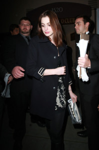 Anne Hathaway arrives at the Critics Choice Awards afterparty at the Buffalo Club on January 16th 2010 in Santa Monica California 3