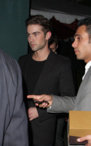 Chace Crawford arrives at the Critics Choice Awards afterparty at the Buffalo Club on January 16th 2010 in Santa Monica California
