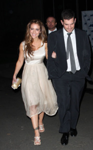Alyssa Milano arrives at the Critics Choice Awards afterparty at the Buffalo Club on January 16th 2010 in Santa Monica California