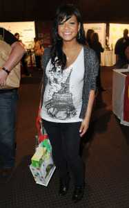 Christina Milian pregnant picture at the Boom Boom Room Baby event on January 15th 2010 at the Century Plaza Hotel in Los Angeles 1