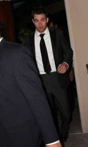 Chris Pine arrives at the Critics Choice Awards afterparty at the Buffalo Club on January 16th 2010 in Santa Monica California 2