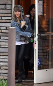 Ashley Tisdale and Vanessa Hudgens together on December 30th 2009 in Toluca Lake California 1 1