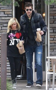 Ashley Tisdale and her boyfriend Scott Speer were spotted out on December 28th 2009 in Toluca Lake