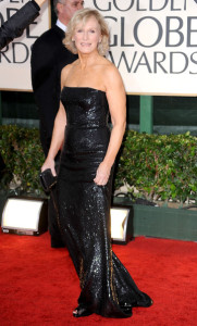 Glenn Close arrives at the 67th Annual Golden Globe Awards held at The Beverly Hilton Hotel on January 17th 2010 in California
