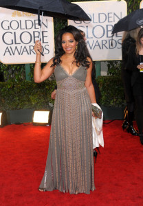 Lauren Velez arrives at the 67th Annual Golden Globe Awards held at The Beverly Hilton Hotel on January 17th 2010 in California