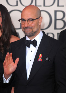 Stanley Tucci arrives at the 67th Annual Golden Globe Awards held at The Beverly Hilton Hotel on January 17th 2010 in California