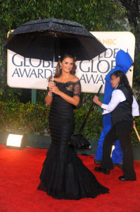 Penelope Cruz arrives at the 67th Annual Golden Globe Awards held at The Beverly Hilton Hotel on January 17th 2010 in California