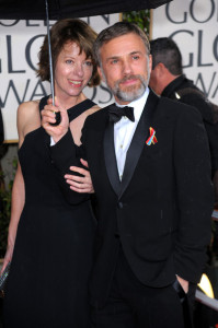 Christoph Waltz arrives at the 67th Annual Golden Globe Awards held at The Beverly Hilton Hotel on January 17th 2010 in California