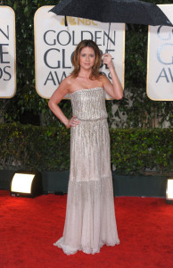 Jenna Fischer arrives at the 67th Annual Golden Globe Awards held at The Beverly Hilton Hotel on January 17th 2010 in California