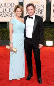 Missy Yager and Sam Trammell at the 67th Annual Golden Globe Awards held at The Beverly Hilton Hotel on January 17th 2010 in California
