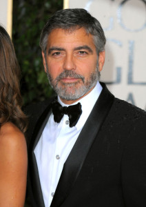 George Clooney arrives at the 67th Annual Golden Globe Awards held at The Beverly Hilton Hotel on January 17th 2010 in California