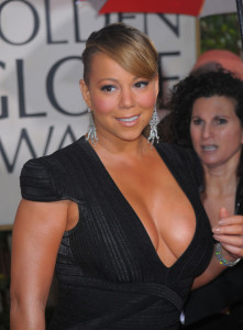 Mariah Carey arrives at the 67th Annual Golden Globe Awards held at The Beverly Hilton Hotel on January 17th 2010 in California 2