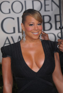 Mariah Carey arrives at the 67th Annual Golden Globe Awards held at The Beverly Hilton Hotel on January 17th 2010 in California 3