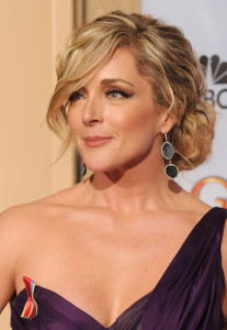 Jane Krakowski in the press room during the 67th Annual Golden Globe Award at The Beverly Hilton Hotel on January 17th 2010 in California 1