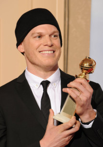 Michael C Hall poses in the press room during the 67th Annual Golden Globe Award at The Beverly Hilton Hotel on January 17th 2010 in California 4