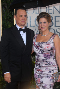 Tom Hanks and Rita Wilson photo at the 67th Annual Golden Globe Award at The Beverly Hilton Hotel on January 17th 2010 in California