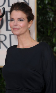 Jeanne Tripplehorn at the 67th Annual Golden Globe Awards held at The Beverly Hilton Hotel on January 17th 2010 in California