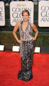 Carrie Ann Inaba at the 67th Annual Golden Globe Awards held at The Beverly Hilton Hotel on January 17th 2010 in California