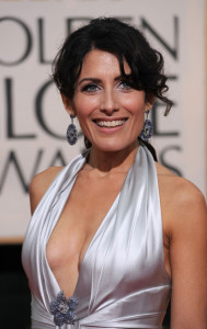 Lisa Edelstein at the 67th Annual Golden Globe Awards held at The Beverly Hilton Hotel on January 17th 2010 in California