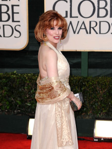 Kat Kramer arrives at the 67th Annual Golden Globe Awards held at The Beverly Hilton Hotel on January 17th 2010 in California