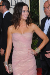 Emily Blunt attends the 67th Annual Golden Globe Awards held at The Beverly Hilton Hotel on January 17th 2010 in California