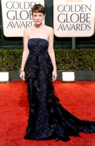 Carey Mulligan attends the 67th Annual Golden Globe Awards held at The Beverly Hilton Hotel on January 17th 2010 in California