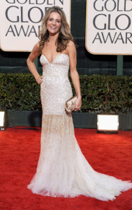 Jessalyn Gilsig attends the 67th Annual Golden Globe Awards held at The Beverly Hilton Hotel on January 17th 2010 in California