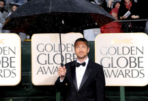 Gerard Butler at the 67th Annual Golden Globe Awards held at The Beverly Hilton Hotel on January 17th 2010 in California