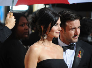 David Arquette and Courteney Cox Arquette at the 67th Annual Golden Globe Awards held at The Beverly Hilton Hotel on January 17th 2010 in California