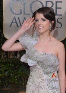 Anna Kendrick at the 67th Annual Golden Globe Awards held at The Beverly Hilton Hotel on January 17th 2010 in California