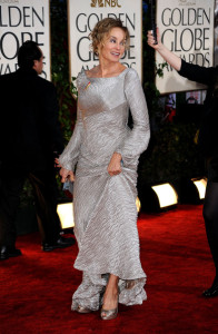 Jessica Lange at the 67th Annual Golden Globe Awards held at The Beverly Hilton Hotel on January 17th 2010 in California