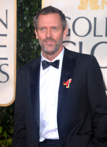 Hugh Laurie arrives at the 67th Annual Golden Globe Awards held at The Beverly Hilton Hotel on January 17th 2010 in California
