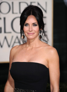 Courteney Cox arrives at the 67th Annual Golden Globe Awards held at The Beverly Hilton Hotel on January 17th 2010 in California