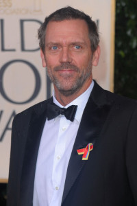 Hugh Laurie attends the 67th Annual Golden Globe Awards held at The Beverly Hilton Hotel on January 17th 2010 in California
