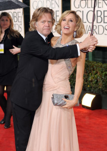 Felicity Huffman and William H Macy arrive at the 67th Annual Golden Globe Awards held at The Beverly Hilton Hotel on January 17th 2010 in California