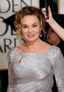 Jessica Lange attends the 67th Annual Golden Globe Awards held at The Beverly Hilton Hotel on January 17th 2010 in California